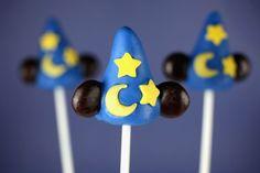 Disney themed cake pops