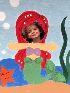 Cute Mermaid Photo Op Prop
