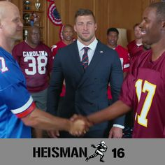 It's time to VOTE for the next Heisman Trophy winner. See video here: https://www.youtube.com/watch?v=u-C1R2X0w-M  #electionday #HeismanHouse #Vote