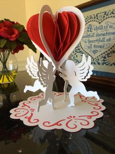 Papercrafts and other fun things: Cupid's Torus Heart for Valentine's Day