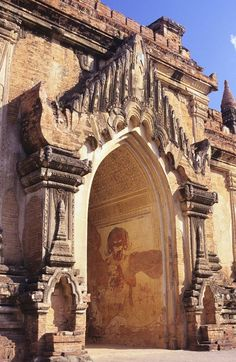 Sulamani Temple - Burma - Buddist temple in the village of Minnanthu - Myanmar - built in 1181 Religious Architecture, Ancient Architecture, Amazing Architecture, Gothic Architecture, Laos, Myanmar Travel, Burma Myanmar, Vietnam Travel, Oh The Places You'll Go