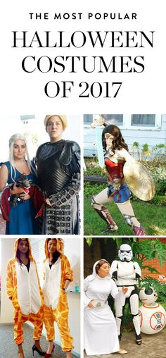 The Most Popular Halloween Costumes of the Year. #purewow #halloween #halloweencostumes