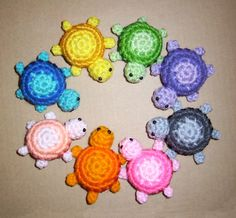 Little Turtle Plushie by HappySquidMuffin on Etsy, $4.50