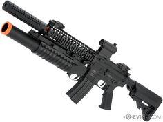 Go Airsoft Starter Package Avengers BAMF Grenadier M4 Lipo Ready Airsoft AEG Rifle