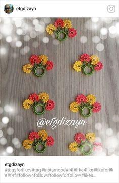 Col Crochet, Crochet Buttons, Crochet Collar, Crochet Borders, Crochet Motif, Crochet Designs, Crochet Flowers, Crochet Stitches, Crochet Patterns