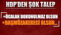 Meclis'te şok teklif : ''Öcalan başmüzakereci olsun, dokunulmazlığı da olsun''