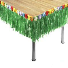 Tropische slinger decoratie tafel. Hawaii of tropisch feestje? Bij Fun en Feest vind je de leukste Hawaii feestartikelen, versiering en decoratie.