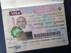 Obtention des Visas pour l'Iran