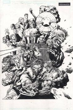 The Ultimates by David Finch *