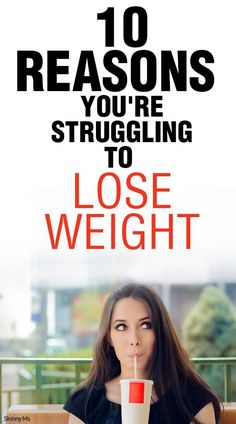 Trying to do all the right things and just can't seem to drop the pounds? Here are 10 Reasons You're Struggling to Lose Weight.