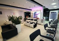 Hair Salon P.Roccialli - Gdańsk (Poland) Salon Design #SalonIdeas