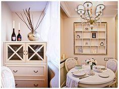 Светлая трёшка в стиле неоклассика для молодой семьи. Мебель и предметы интерьера в цветах: желтый, серый, светло-серый, бежевый. Мебель и предметы интерьера в стиле неоклассика.