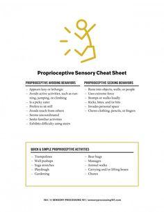 Proprioceptive Sensory Input Explained