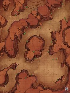 This week I'm releasing my first ever desert map. This one is a fairly simple one, but I think it's going to be pretty useful for. Dunes Battle Map for Dungeons And Dragons Dnd World Map, Fantasy World Map, Fantasy City, Dungeons And Dragons Homebrew, D&d Dungeons And Dragons, Dark Sun, Game Art, Desert Map, Pathfinder Maps