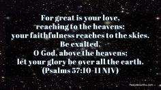 For Great Is His Love - http://blog.peacebewithu.com/for-great-is-his-love/