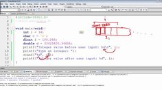 We shall take user input using the scanf function but more precisely, in this video, we are going to look at a way of altering the value of an integer by rep. The C Programming Language, Programming Languages, C Programming Tutorials, Integers, Coding, Programming