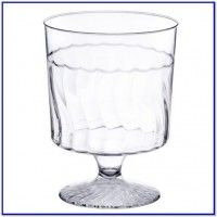 5 oz clear plastic cups