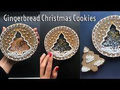 Christmas Sugar Cookies, Holiday Cookies, Christmas Desserts, Christmas Treats, Christmas Baking, Cool Gingerbread Houses, Christmas Gingerbread, Gingerbread Cookies, Iced Cookies