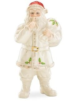 Lenox Exclusive 2013 Collectible SHH. . Santa 7.5 in. Figurine Lenox http://www.amazon.com/dp/B00IO6HNZW/ref=cm_sw_r_pi_dp_RPgvub1314976