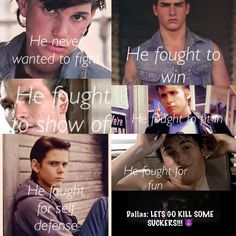 The Outsiders Source by hmgurol The Outsiders Quotes, The Outsiders 1983, Lets Do It, Let It Be, The Outsiders Preferences, Greaser Girl, Ralph Macchio, Good Movies, 80s Movies