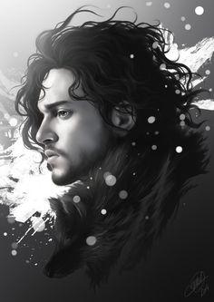 Jon Snow by Nicolas Jamonneau