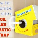 How to Store Foil and Plastic Wrap