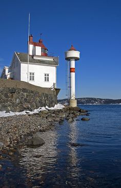 Lighthouse at Filtvet Norway
