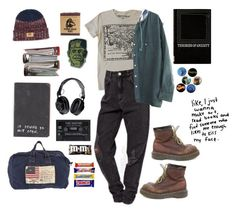 """""""90s ish"""" by allisontina5 ❤ liked on Polyvore featuring Polo Ralph Lauren, Proenza Schouler and Dr. Martens"""