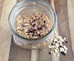 PB Overnight Oats - really good. Add yogurt