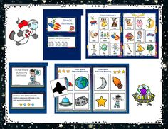 I have added Outer Space file folder games to 1 - 2 - 3 learn Curriculum. The games are available in both color and B & W. These are located under the Outer Space link. Thank you! Jean