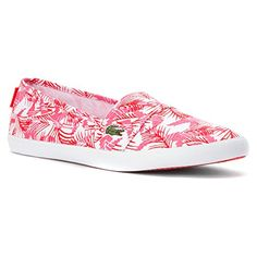 Lacoste Marice FUN SPW CNV 729SPW1016F50 Pink  White 6 BM US Women * Find out more about the great product at the image link.