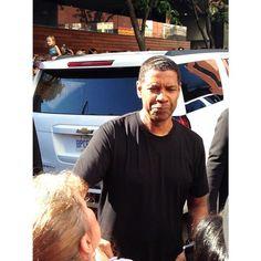Denzel Washington at TIFF (2014) #denzelwashington #toronto #tiff #tiff2014 #canada #follow #followme #filmfestival