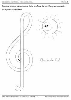 Curso 2014/2015 Music Theory Worksheets, Kids Math Worksheets, Kindergarten Music, Preschool Music, Piano Lessons, Music Lessons, Piano Music For Kids, Piano Songs For Beginners, Music Crafts