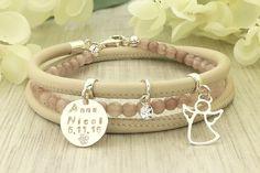 Guardian angel bracelet - Angel charm bracelet - Guardian angel gifts - Personalized guardian angel - Sterling silver bracelet - Memorial by Jaeedesign on Etsy https://www.etsy.com/listing/559808375/guardian-angel-bracelet-angel-charm
