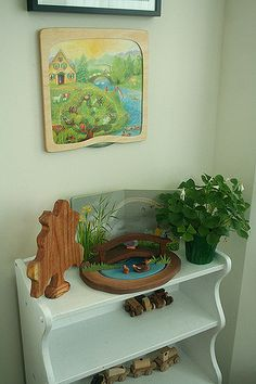 Rotating Picture and Frame over Seasonal Shelf... | Emma | Flickr