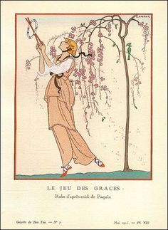 A Nymphoid Barbarian in Dinosaur Hell: George Barbier, summertime and the livin' is easy