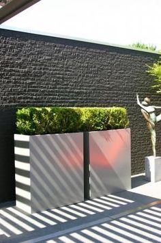 Box planters #gardens