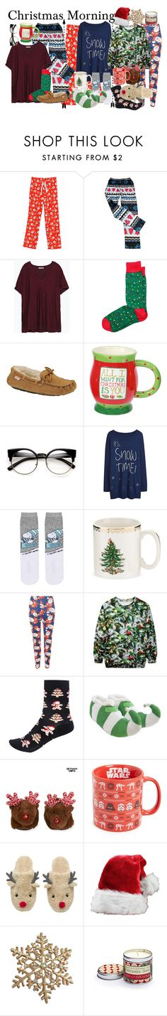 """""""🎄🎄CHRISTMAS"""" by midgem123 ❤ liked on Polyvore featuring Zara, Slippers International, Topshop, Spode, WearAll, River Island, Aéropostale, Vandor and Ulster Weavers"""