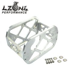 62.16$  Watch now - http://alie4p.worldwells.pw/go.php?t=32787850733 - LZONE RACING- UNIVERSAL OPTIMA BATTERY MOUNT BRACKET NATURAL,BILLET BATTERY Hold Down Bracket, Tray, Box JR-BMP11