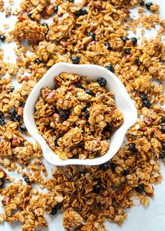 Sweet, simple, healthy, wholesome, feel-good granola. This crunchy ...
