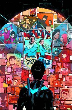 NIGHTWING #7 Batwoman, Batgirl, Batman Y Superman, Batman Comic Art, Batman Robin, Batman Arkham, Dc Comics, Comics Anime, Red Robin