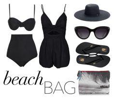 """beach bag"" by la224 on Polyvore"