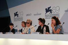 Conférence de presse pour Koji Wakamatsu à Venise pour présenter THE MILLENNIAL RAPTURE
