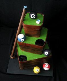 Pool Fanatic Cake