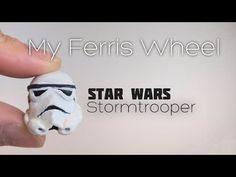 Star Wars Stormtrooper helmet thumb drive polymer clay tutorial