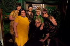 The Hey Fatty team at Bombshell's first birthday