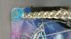 4~ 4.5$ Hot sale!!! large stock Frozen Elsa and Anna Children Kids Girl Halloween christmas party gift Accessories baby girls Headwear Crowns +Magic Wand + Hairband + Hairpiece wigCrown Wigs Wands from Yunhui garment