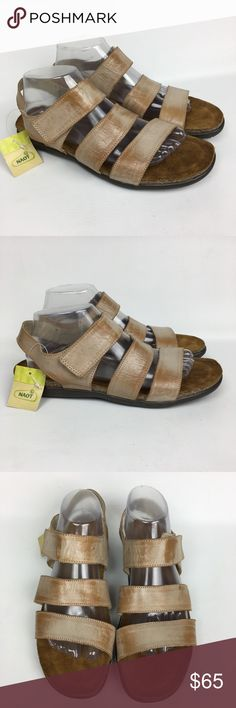 NWOB Naot Leather Ankle Strap Sz 11/42 New without Box , never worn. Naot Shoes Sandals