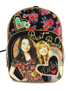 Full Size iCarly Backpack - iCarly Carly and Sam Backpack     Check this  awesome a080a5182f695
