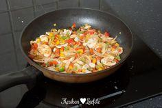 Oventosti met gehakt en paprika - Keuken♥Liefde